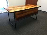 Black Steel Pipe Desk