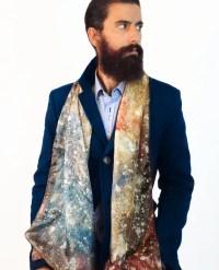 Men's silk scarf man hipster scarf men fashion