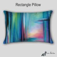 Throw Pillow Jewel tone Home decor Teal Designer pillow