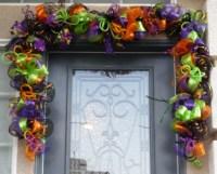 Halloween Garland Swag Halloween Door Swag Halloween Decor