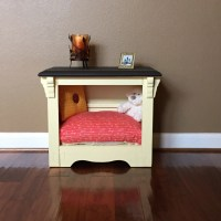 Nightstand Dog Bed