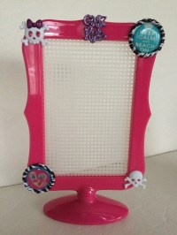 Earring Holder Girls Pink Bedroom Earring by HochePotBoutique