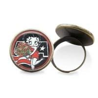 Betty Boop Earrings or Ring