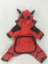 Deadpool Costume for dogs.