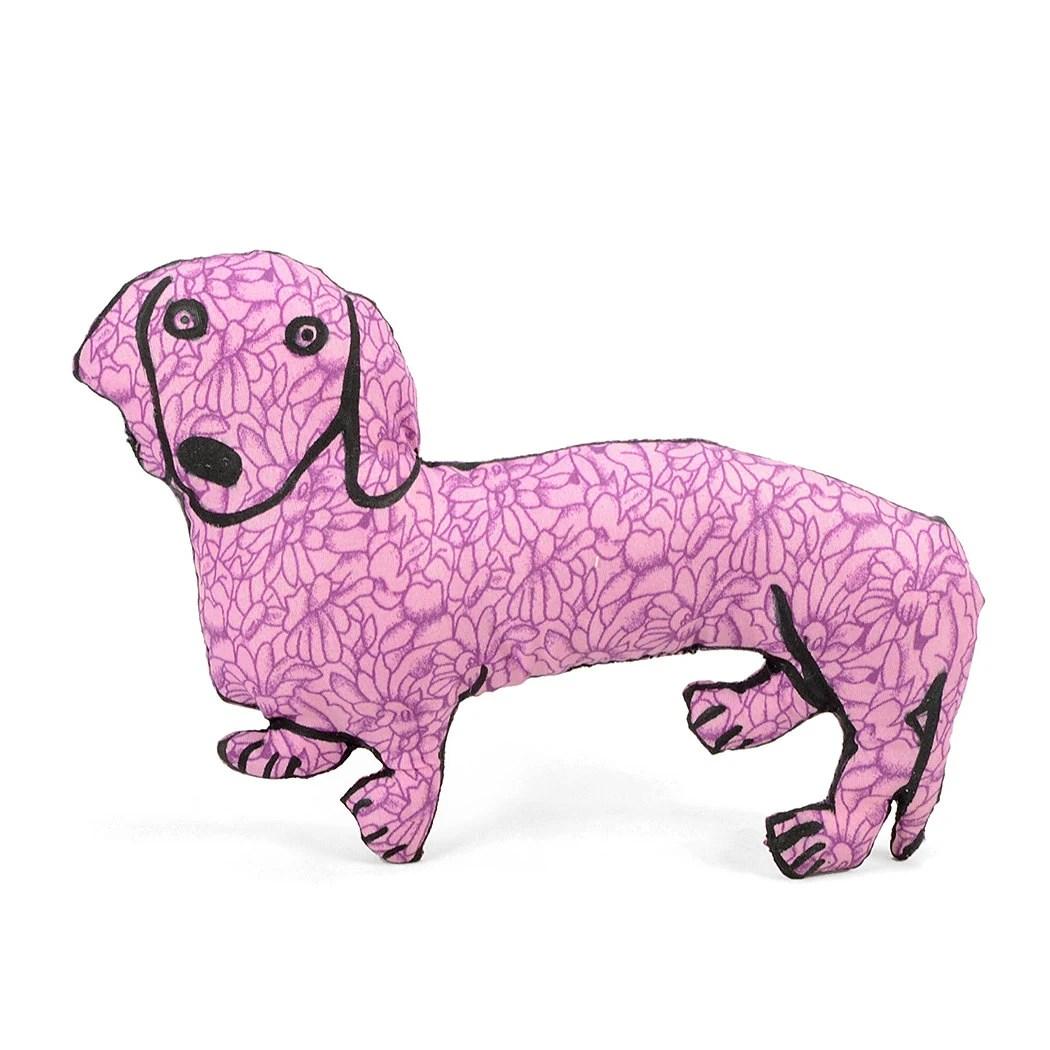 Decorative Pillow Medium Dachshund Dog Shaped Pillow Softie