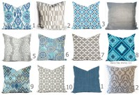 Outdoor Pillows or Indoor Pillow Custom Cover Shades of