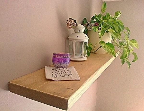 Floating Shelves Wood Shelf Wall Shelf Distressed