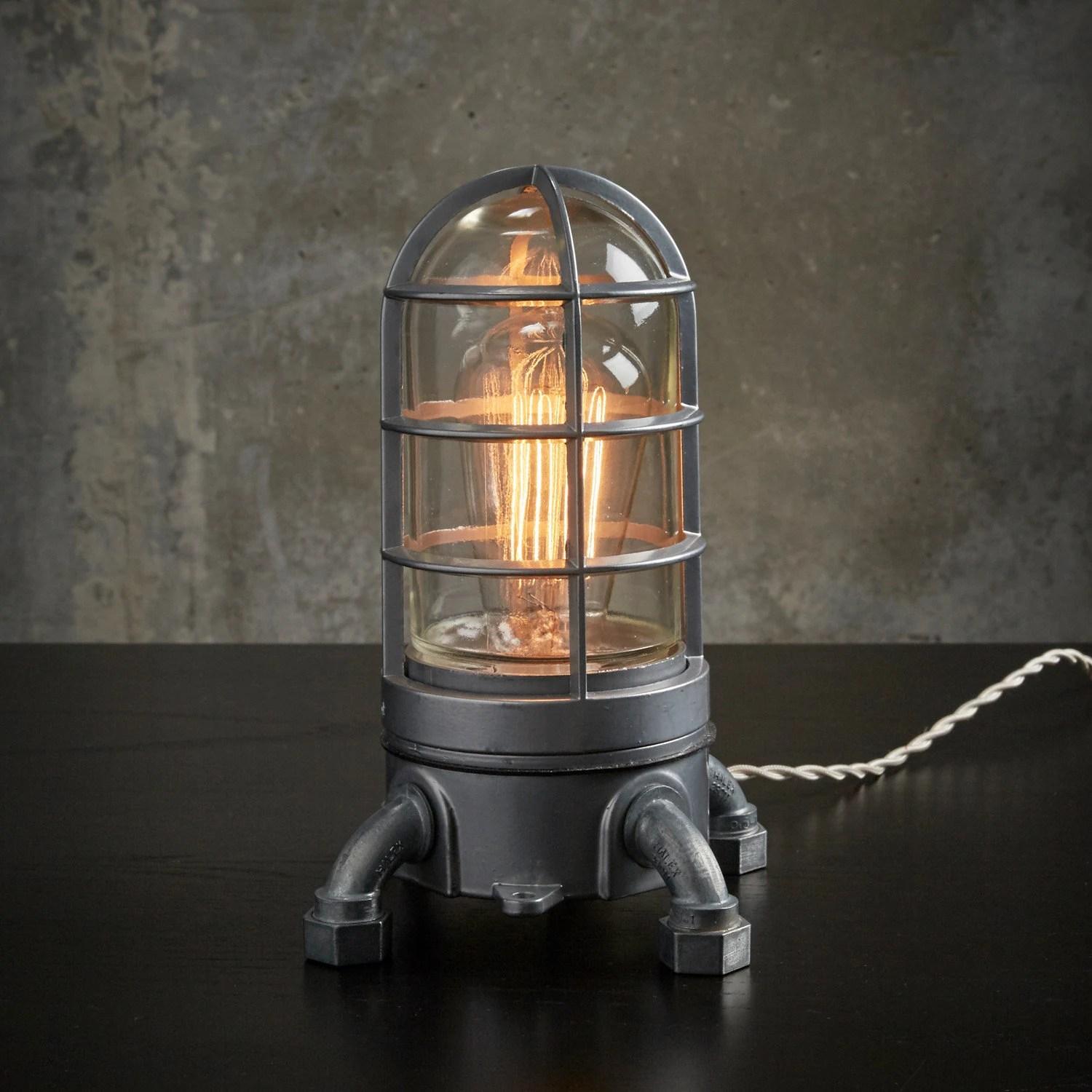 Lighthouse Touch Lamp The Vapor Touch 2 Industrial Lamp W Touch
