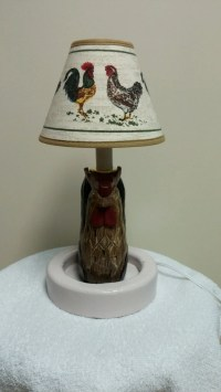 Rooster Accent Lamp