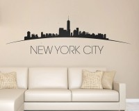new york skyline wall decal - DriverLayer Search Engine
