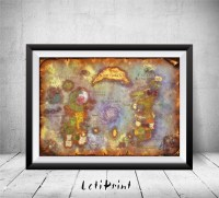 World Of Warcraft World Of Warcraft Map World Of by LetiPrint
