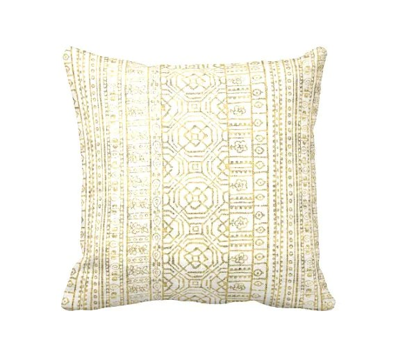 7 Sizes Available Decorative Throw Pillow Covers Yellow