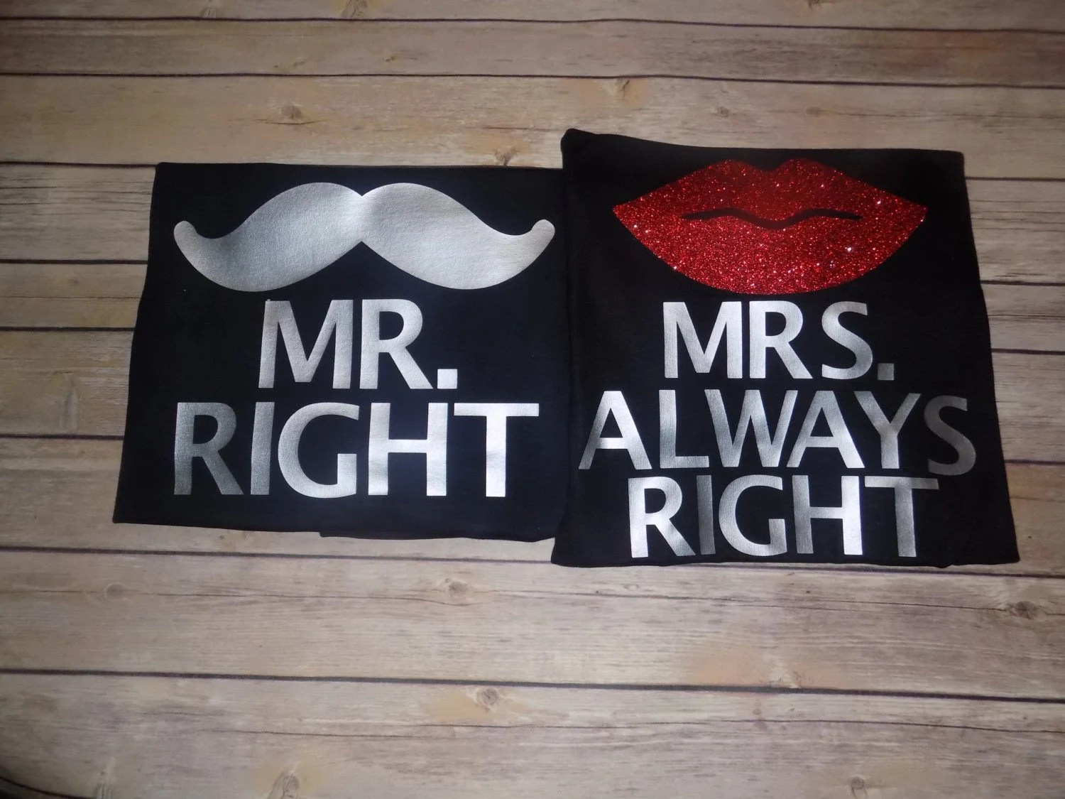 Mr Right Mrs Always Right Bettwäsche Mr Right Mrs Always Right