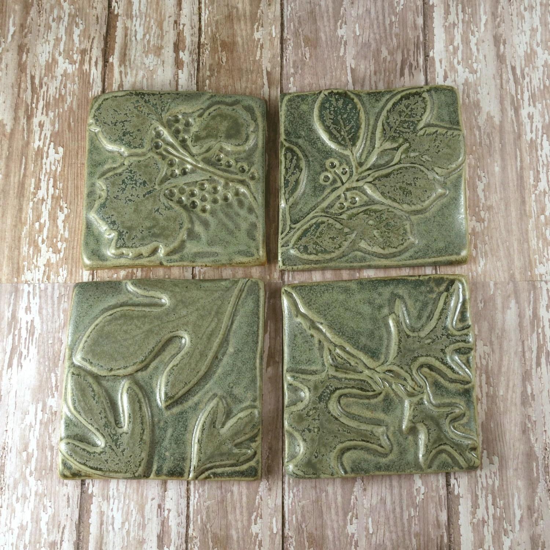 Ceramic Tile Wall Art Backsplash Accent Kitchen Tile