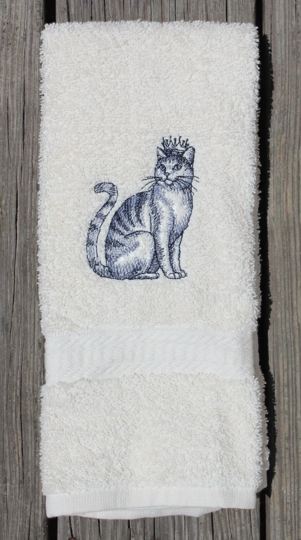 Cat Towels Etsy