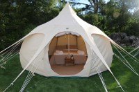 13ft Lotus Belle Outback Deluxe Glamping Tent Yurt Tee Pee