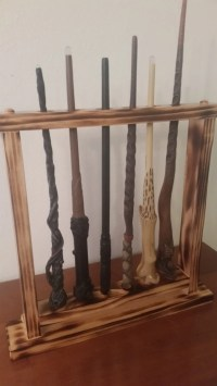 Harry Potter wand Display Magic Wand Holder Holds 6
