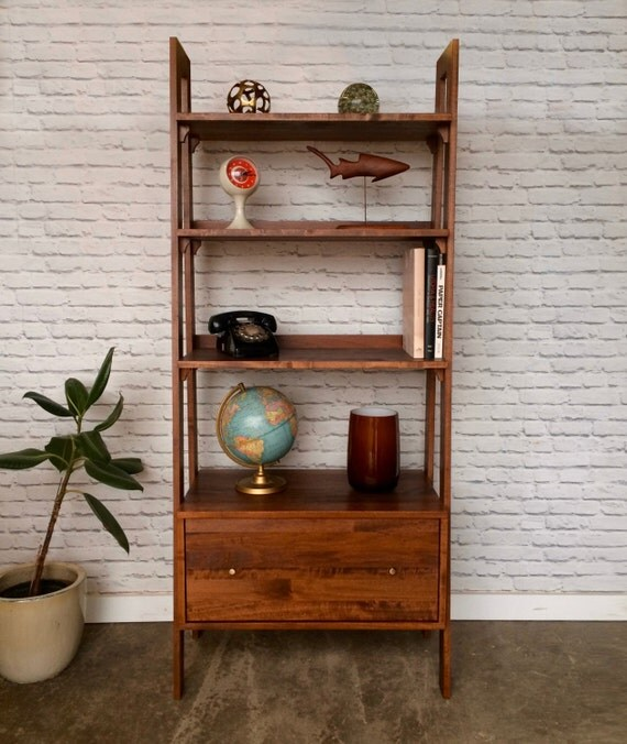 Hennessy Bookcase With File Drawer