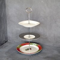 3 Tier Plate Stand Tiered Cake Plate Mini Plate Stand 3