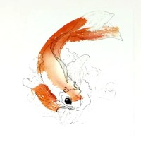 Koi Painting Koi Fish Wall Art Koi Art Koi Fish Art
