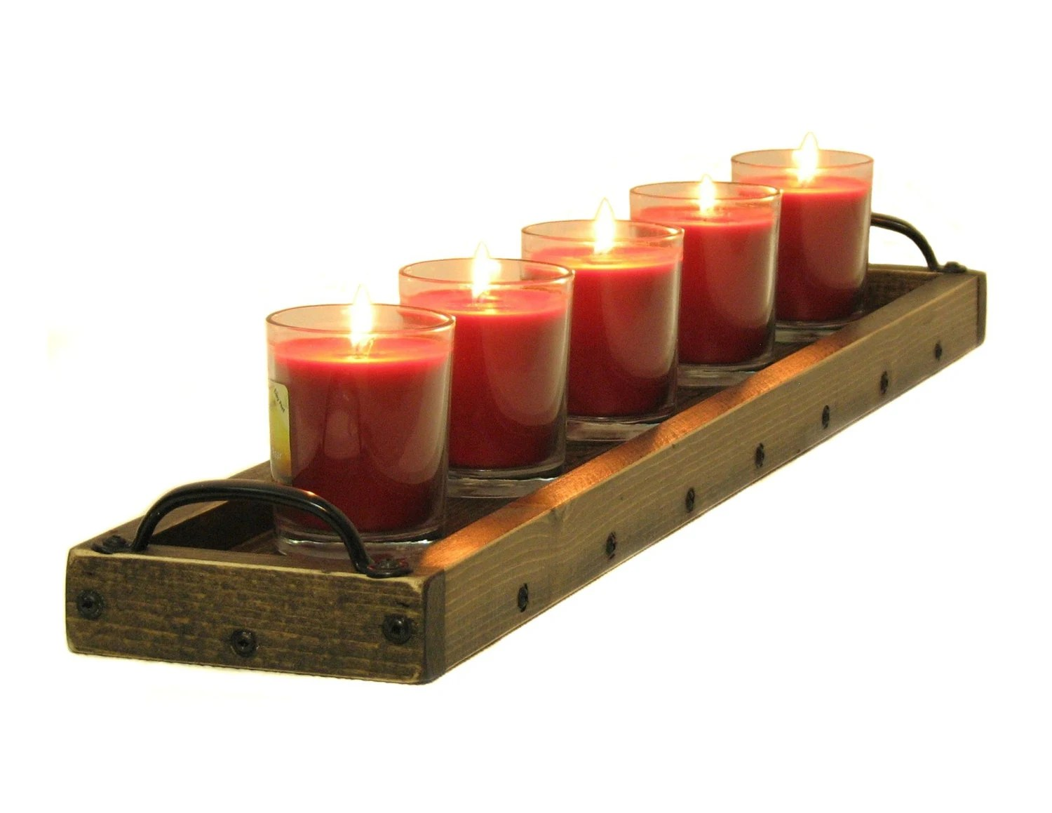 Candle Holder Candle Tray Candle Table By Bridgewoodplace