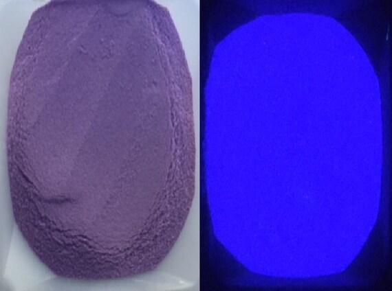 Purple To Purple Glow In The Dark Powder Pigment