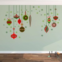 Christmas Decorations Wall Decal reusable wall decals