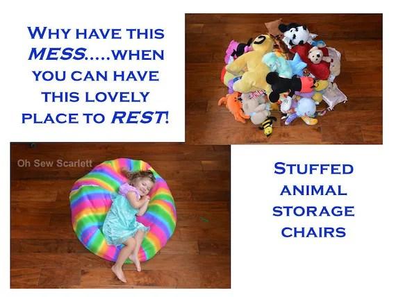 Stuffed Animal Storage Bag - Listitdallas