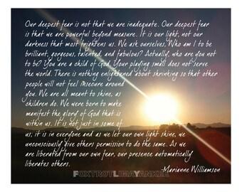Book Quotes Wallpaper Cursive Marianne Williamson Etsy