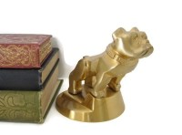 Vintage Mack Truck Bulldog Hood Ornament Brass Mack Dog