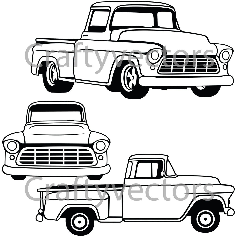 1952 ford f100 black