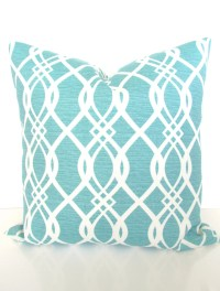 Mint Outdoor Pillows TURQUOISE OUTDOOR Throw Pillow Covers