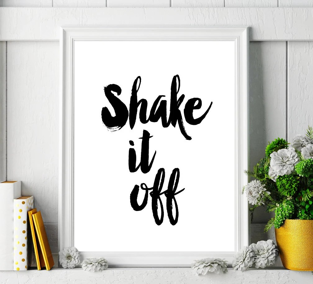 artcostore - Motivational Quote Printable Poster \