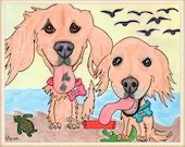 Pet Drawing, Custom Dog P...