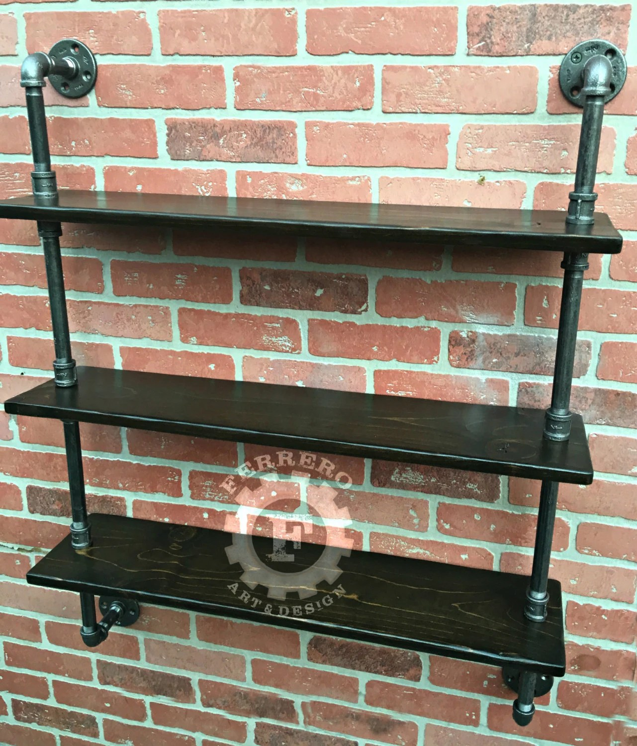 Steampunk Wall Shelves Pipe Shelf Steampunk Furniture Wall Shelves Industrial