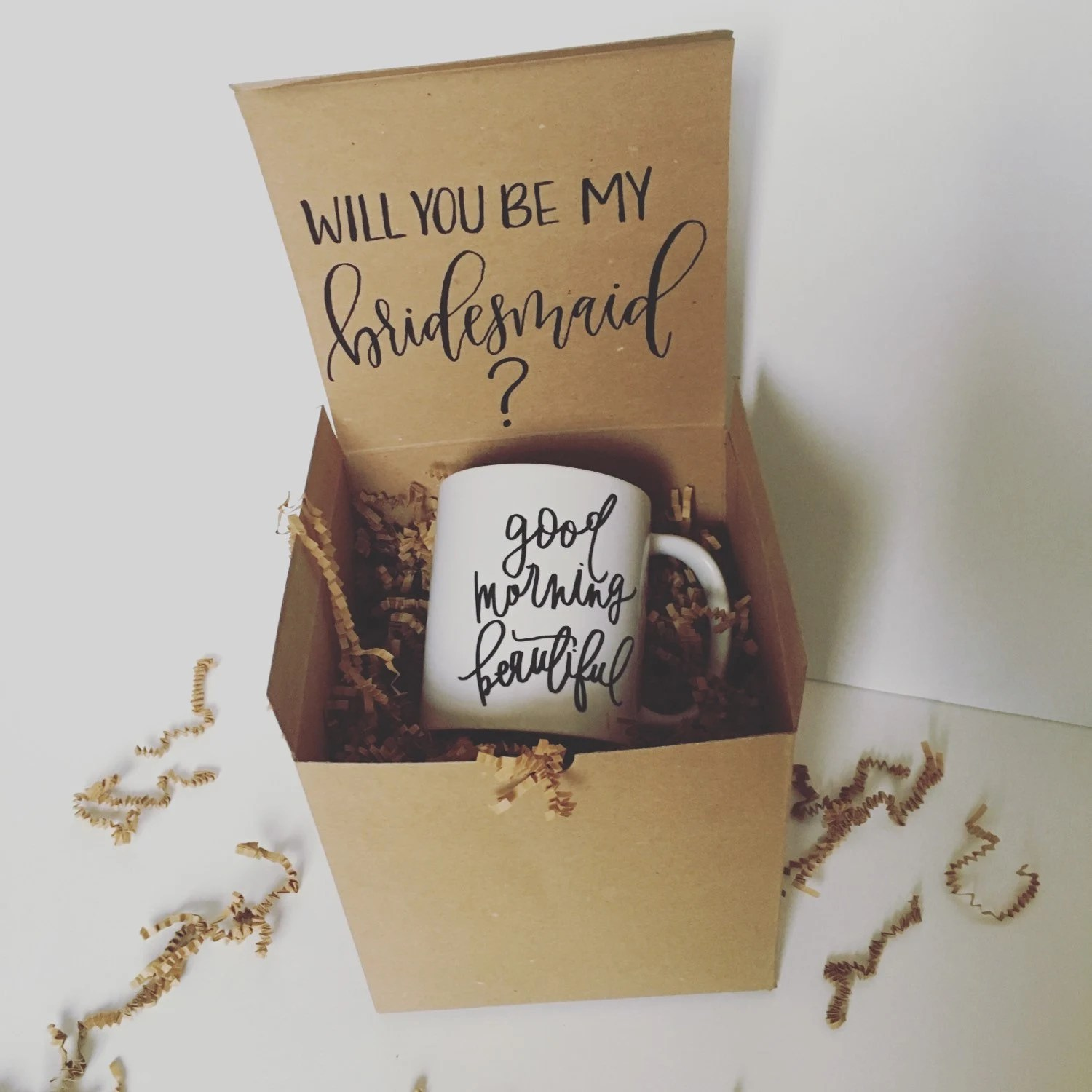 Will You Be My Bridesmaid Box By Victoriadanielleld On Etsy