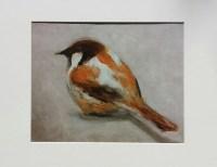 Sparrow Bird Art Print Nursery Wall Art by ArtbyTinaKaragulian