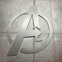 Marvel Avengers superhero metal art decoration decor sign