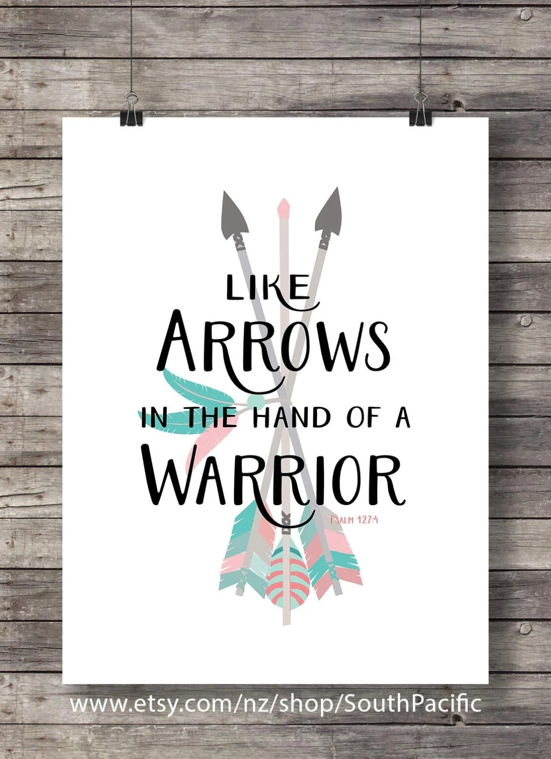 Small Cute Girl Wallpaper Like Arrows In The Hand Of A Warrior Psalm 127 4 Printable