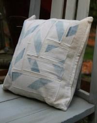 Pillow Cover Throw Pillow Vintage Flour Sack Repurposed