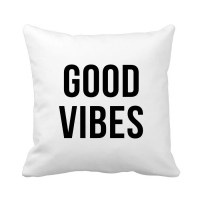 Good Vibes Pillow Good Vibes Only Pillow with Quote by ...