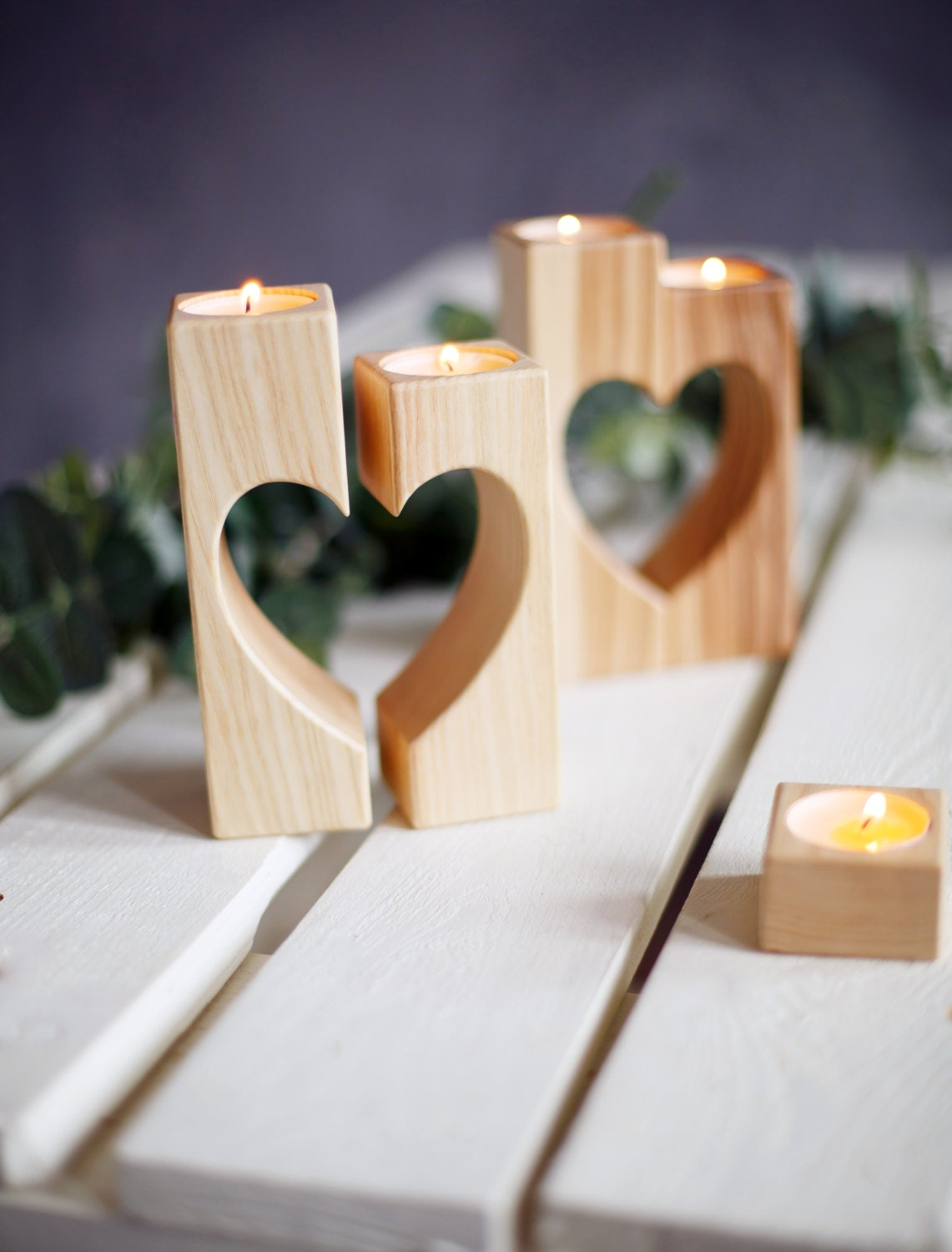 Wooden Candle Holders Australia Heart Candle Holders Wooden Candle Holder Rustic Candle Holder