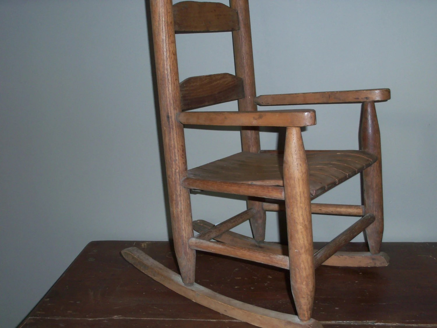 Amazing Rocking Chairs Antique Childs Wooden Rocking Chair Amazing Shape