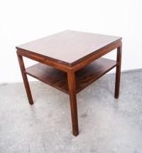 Mid Century Modern Side Table Gunlocke End Coffee Table
