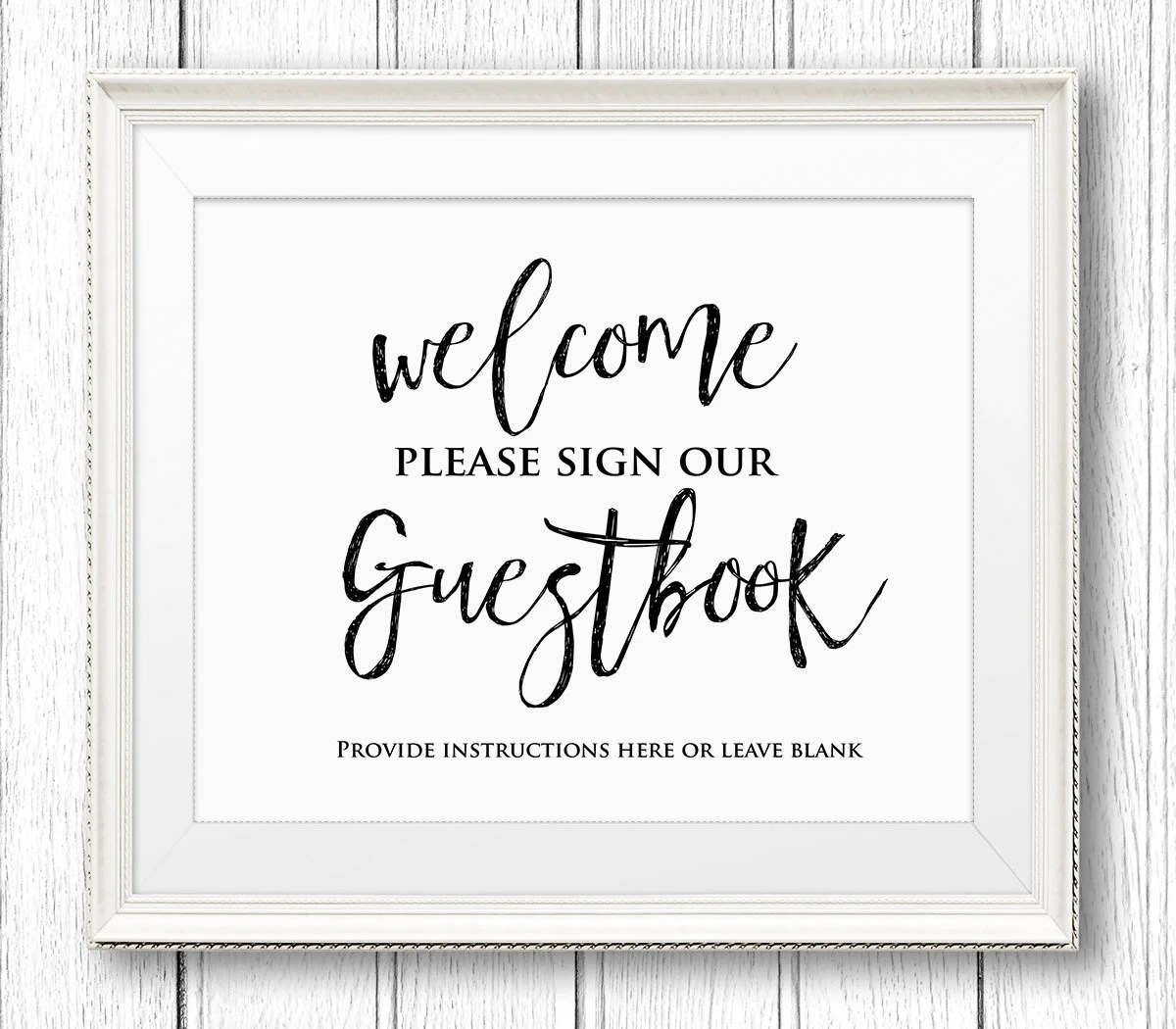 photograph about Printable Guest Book Pages named Wedding ceremony Visitor E book Internet pages Template Xv-gimnazijababy shower