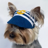 Dog's Baseball Cap Anchor / Hats For Dogs