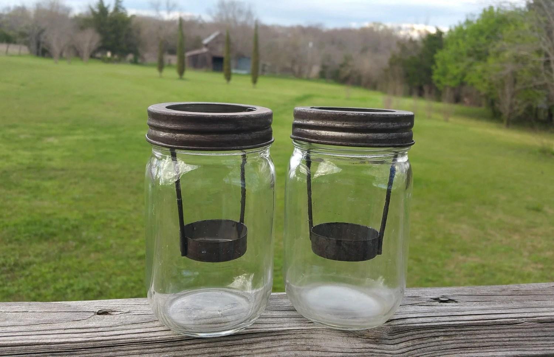 Mason Jar Tea Light Holders Craftbnb