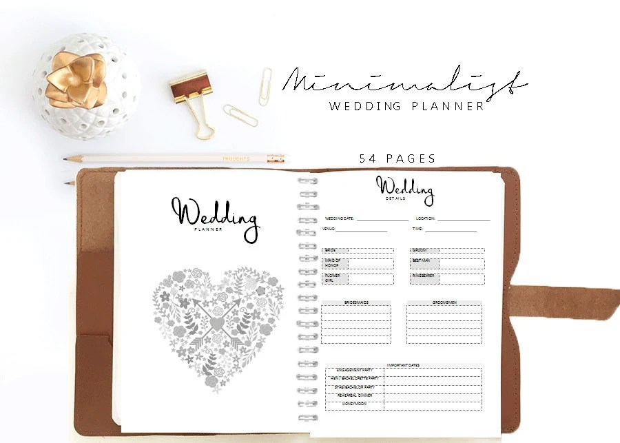wedding planner agenda - Wedding Decor Ideas