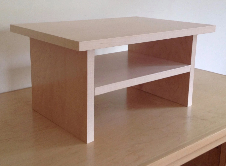 Standing Desk Laptop Monitor Platform With A Shelf 10