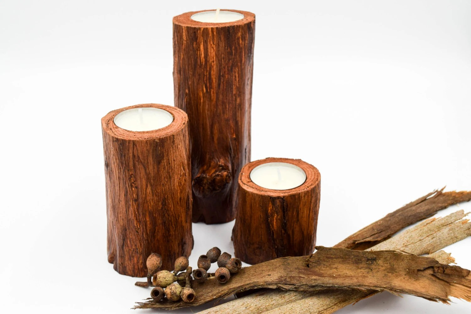 Wooden Candle Holders Australia Wood Candle Holders For Wedding Centerpiece Rustic Wedding